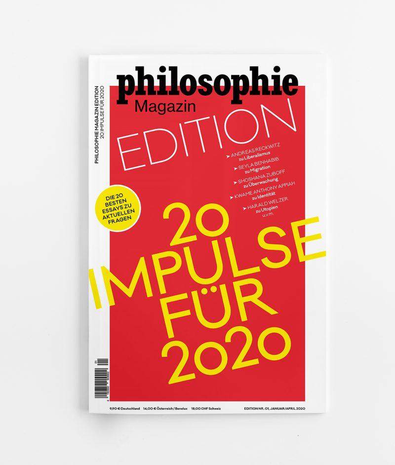 Philosophie Magazin _ EDITION 2020